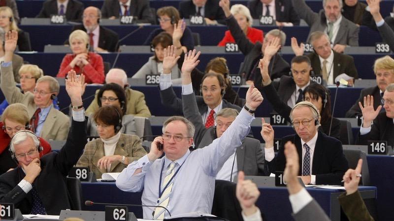 European Parliament calls for suspension of Turkey accession process