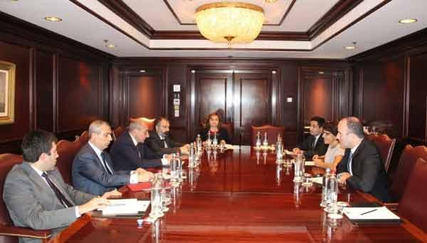 AGBU Europe leadership Meet with President of Artsakh in Brussels