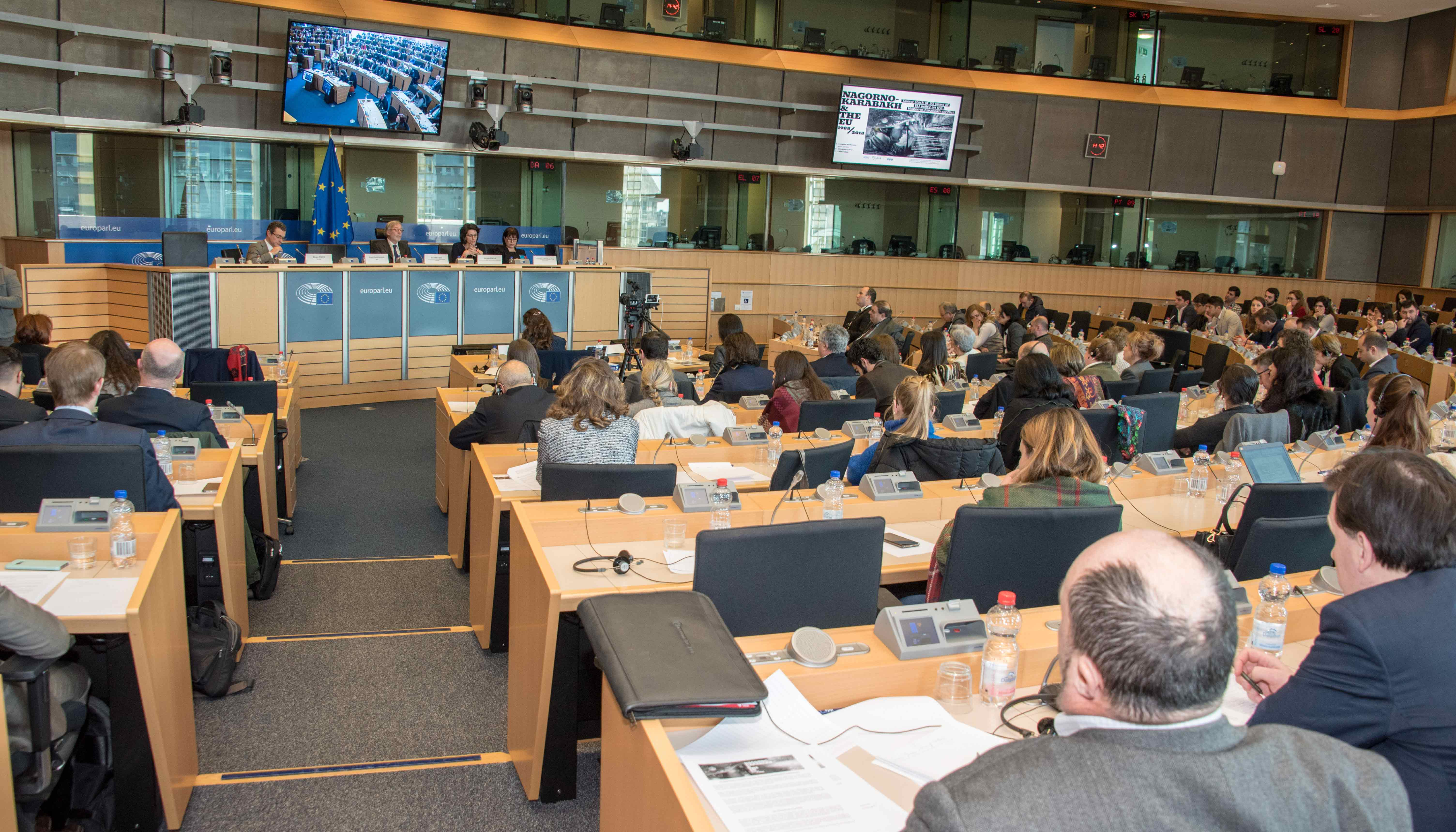 30 Years on, a Conference in the European Parliament debates an EU policy for peace in Karabakh