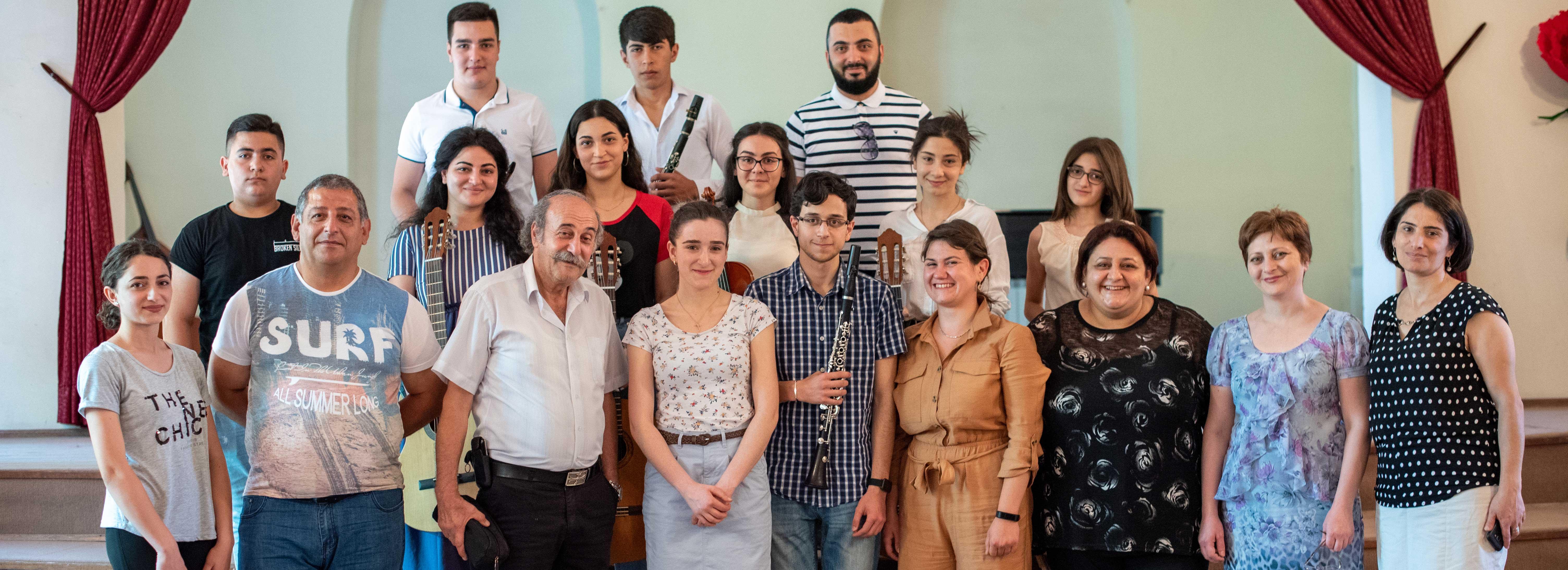 AGBU-HAIK brings German-Armenian Music Students to Armenia for Charity Work