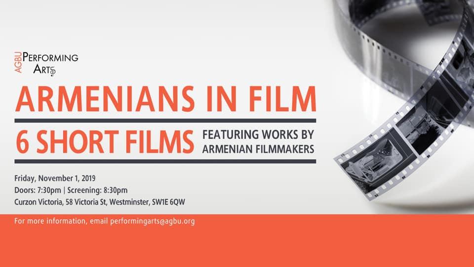 Armenians in Film: 6 short films – London