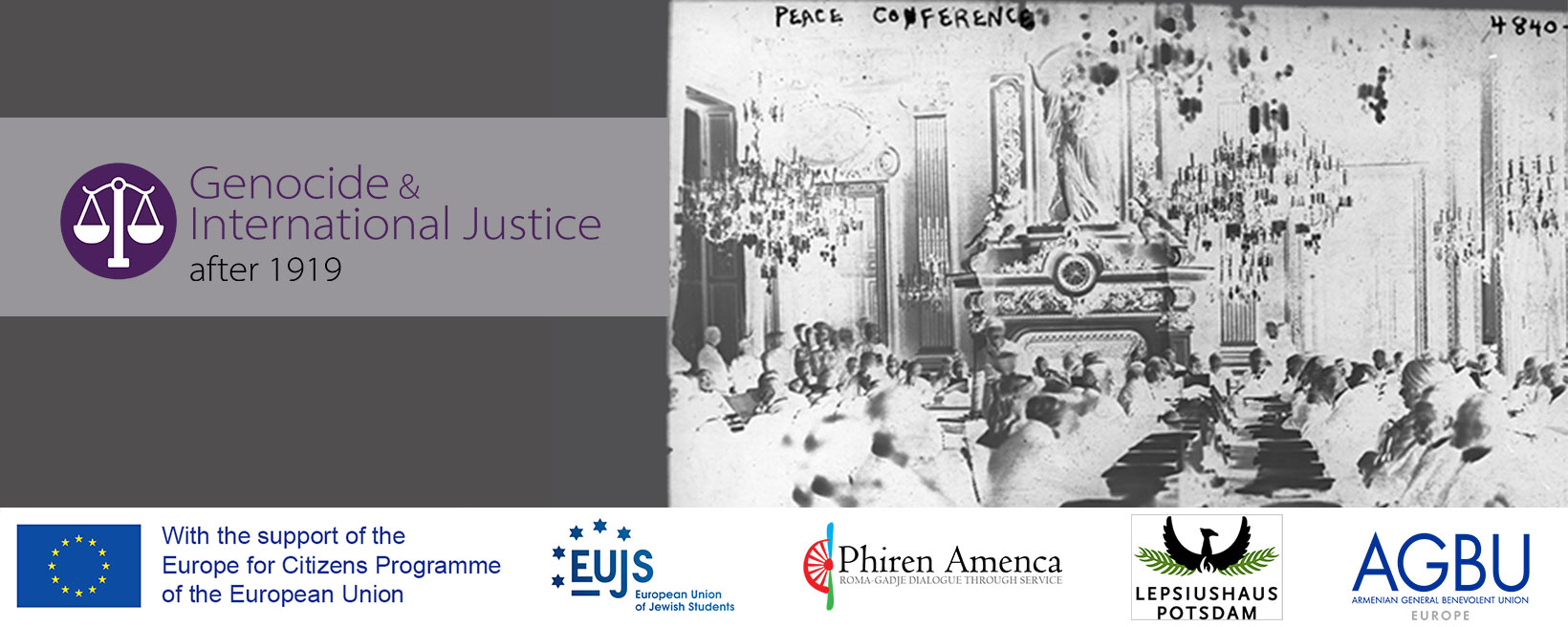 Ideas & their Consequences: Genocide and International Justice after 1919