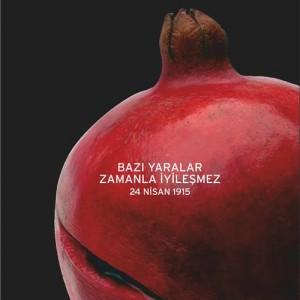Remember 24 april (pomagranate)