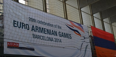 ACAB assembles 28 national delegations for 20th Euro-Armenian Games in Barcelona