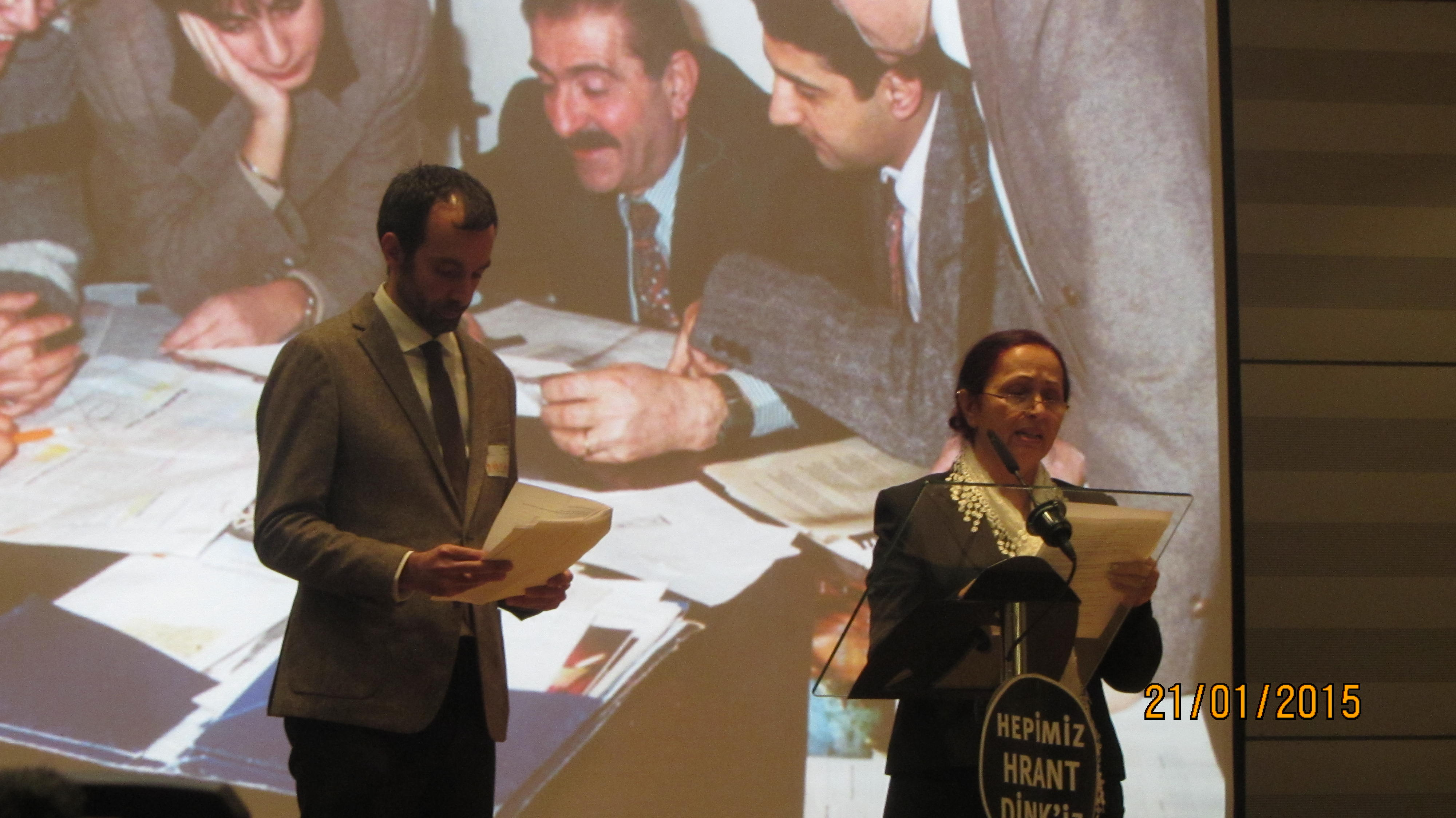 Parliament hosts commemoration for assassinated Journalist Hrant Dink