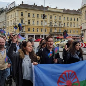 Roma Pride in Budapest