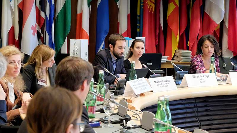 """""""A Europe of Diasporas"""" Project Presented as Successful Example of Coalition Building in Europe at OSCE/ODIHR Conference"""