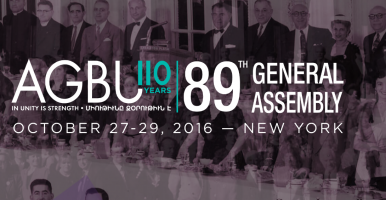 AGBU 89th General Assembly
