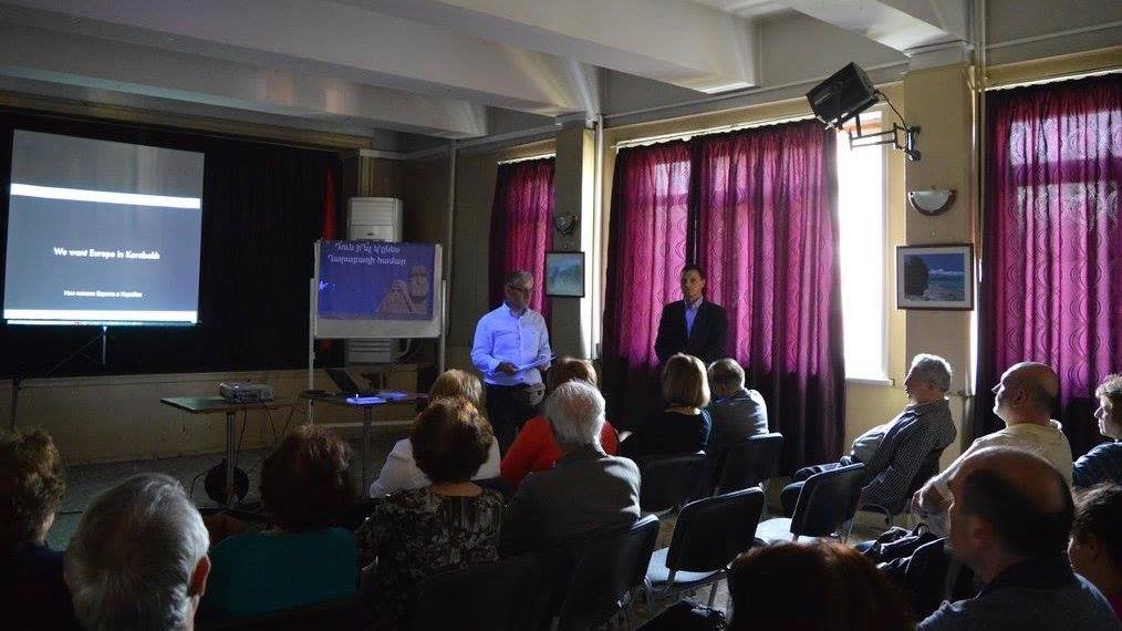 "AGBU Sofia presents ""For EU Aid to Artsakh"" campaign in Bulgaria"