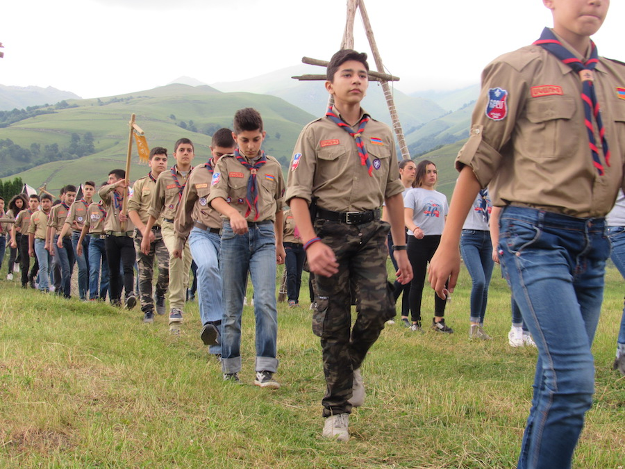Antranik Scout Camp 2017