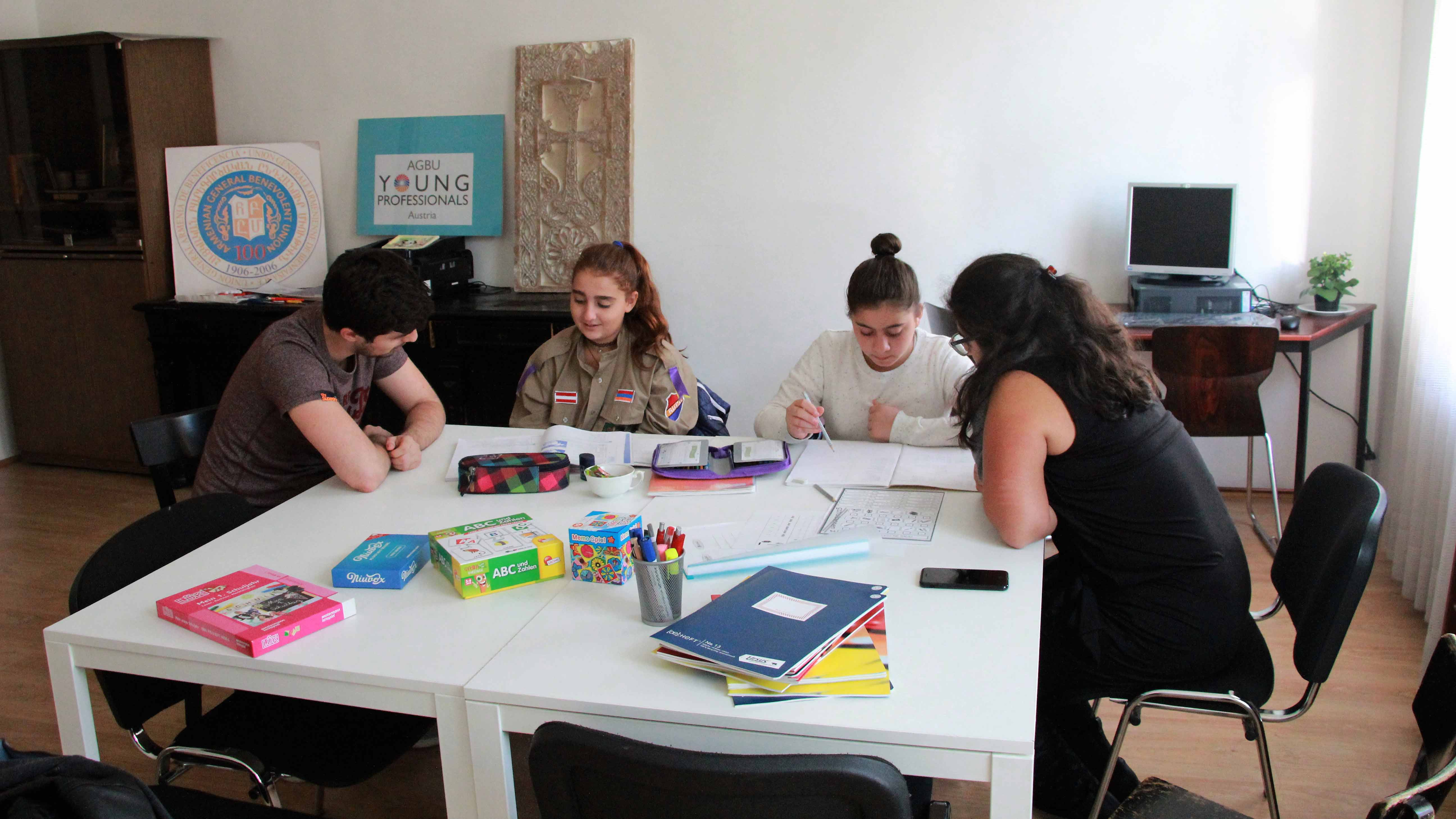 """AGBU Austria is organizing a tutoring project called """"Street of Knowledge"""""""