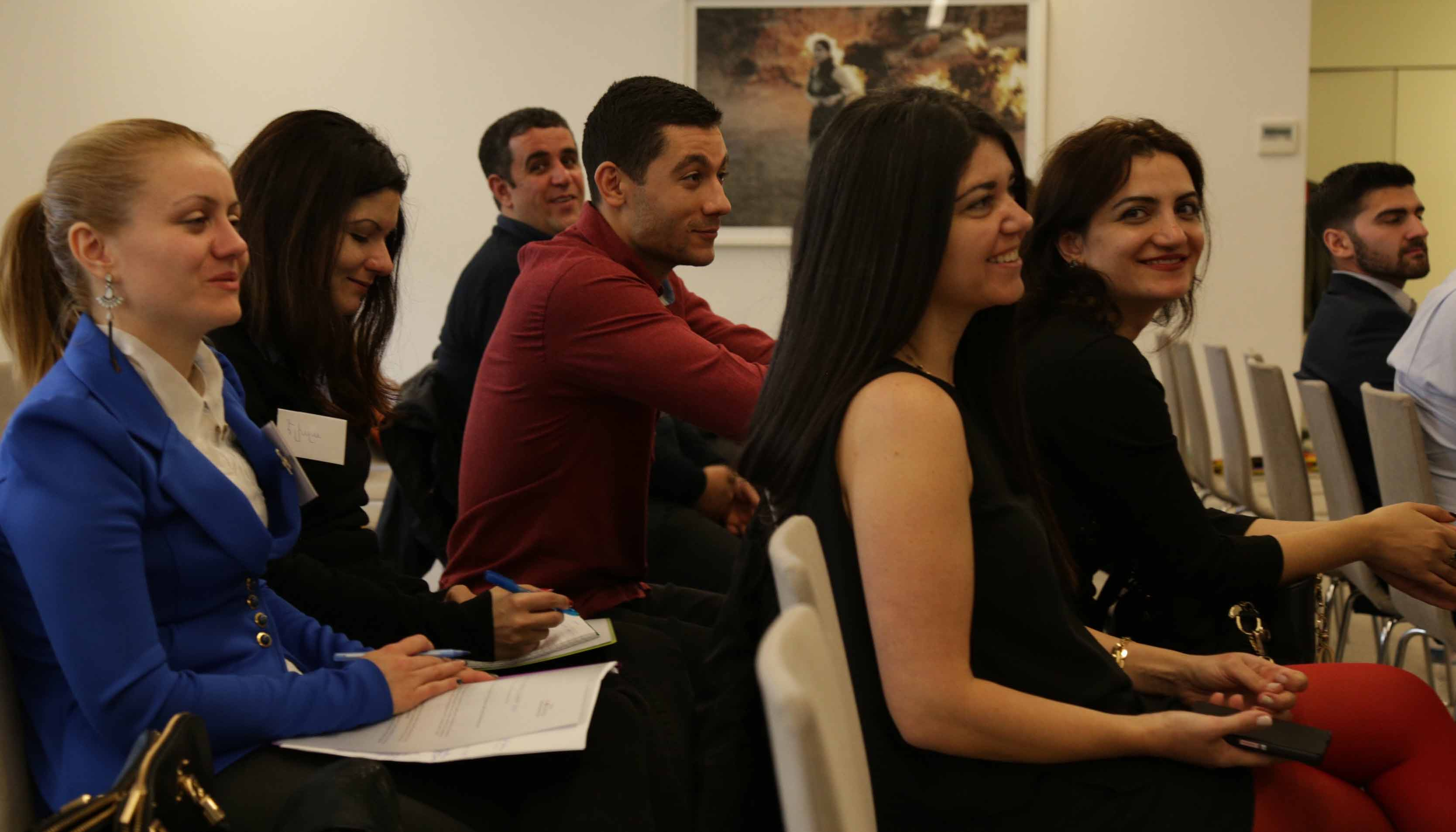 AGBU Young professionals of Europe gather in Paris for their 3rd bi-annual Summit