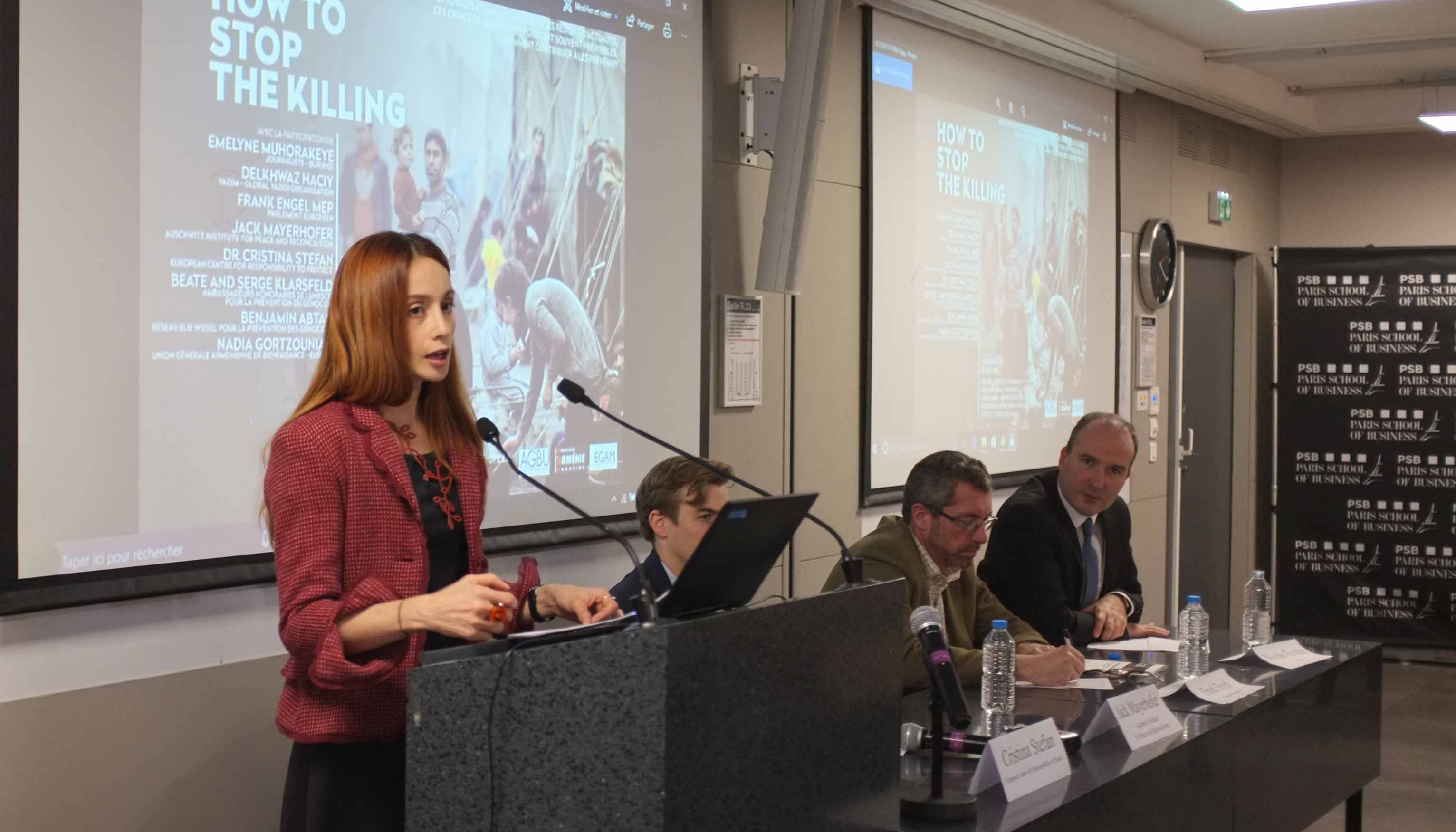 AGBU Europe Holds Conference on Prevention of Crimes Against Humanity