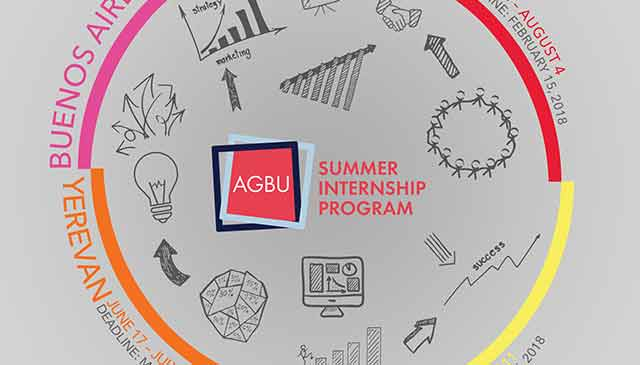 AGBU Summer Internship Program 2018 is now accepting new round of applications