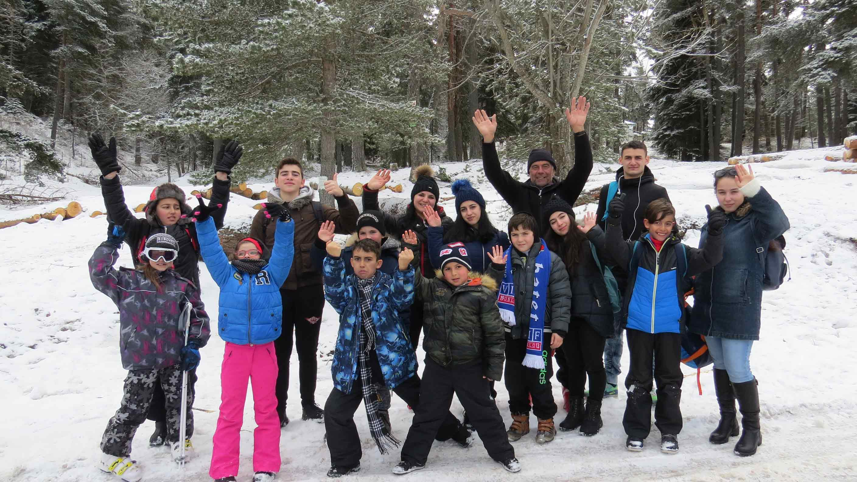 Skiing school for children of AGBU Plovdiv Saturday School