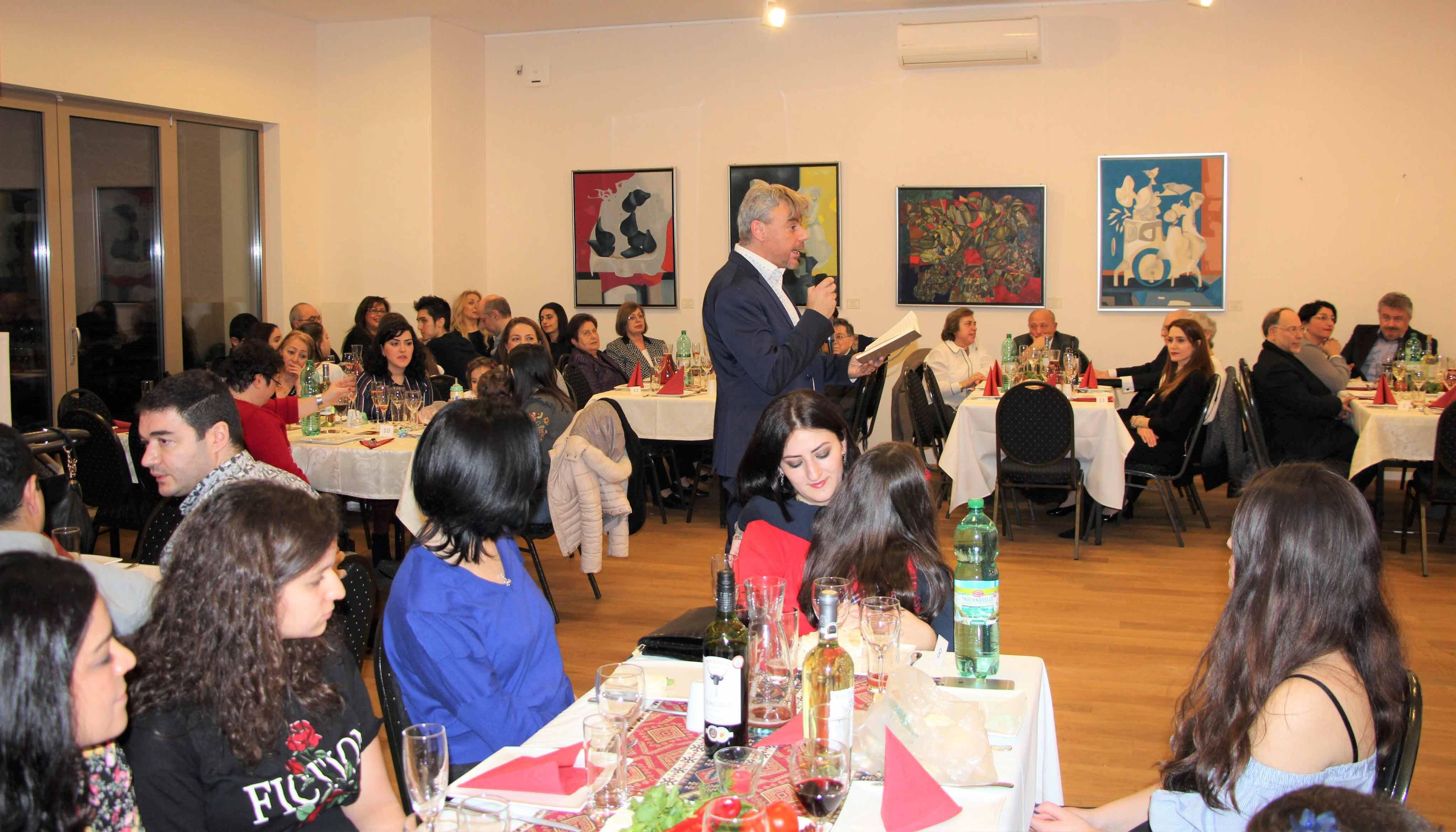 "AGBU Austria celebrates the ""Old New Year"""