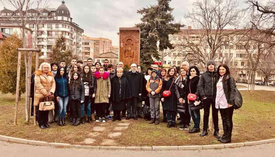 AGBU Sofia commemorates victims of pogroms in Sumgait