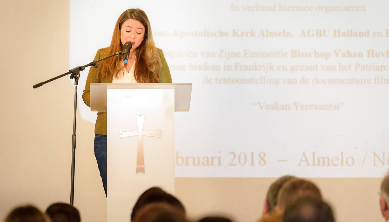 "Screening of ""Voskan Yerevantsi"" at AGBU Holland – February 2018"