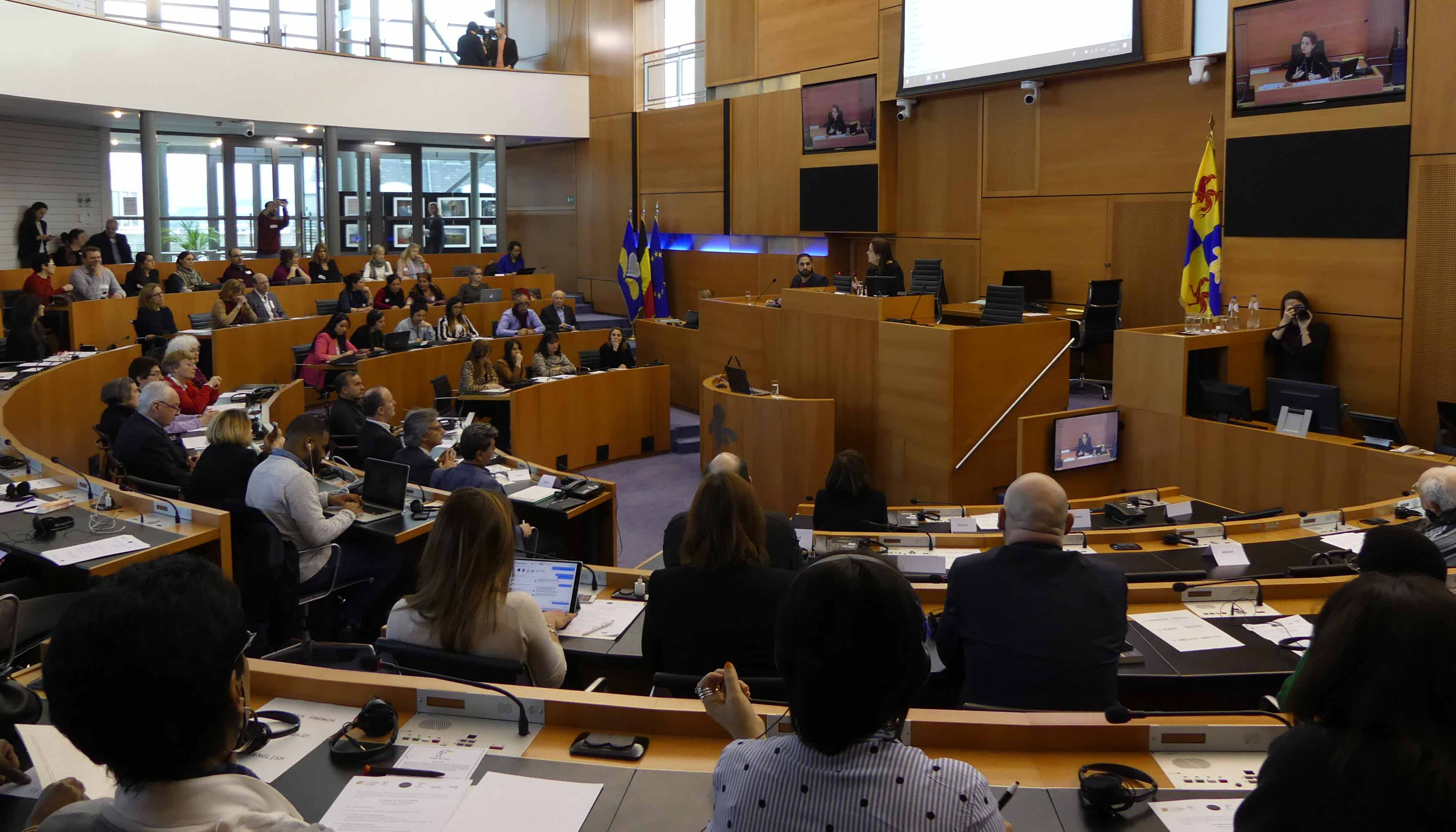 AGBU Europe supports joint efforts to raise the voice of Yazidi women in Brussels
