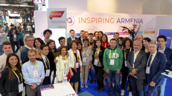 "AGBU France holds ""Inspiring Armenia"" Pavilion at VivaTechnology in Paris"