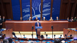 PM Pashinyan at the Parliamentary Assembly of the Council of Europe - © Council of Europe