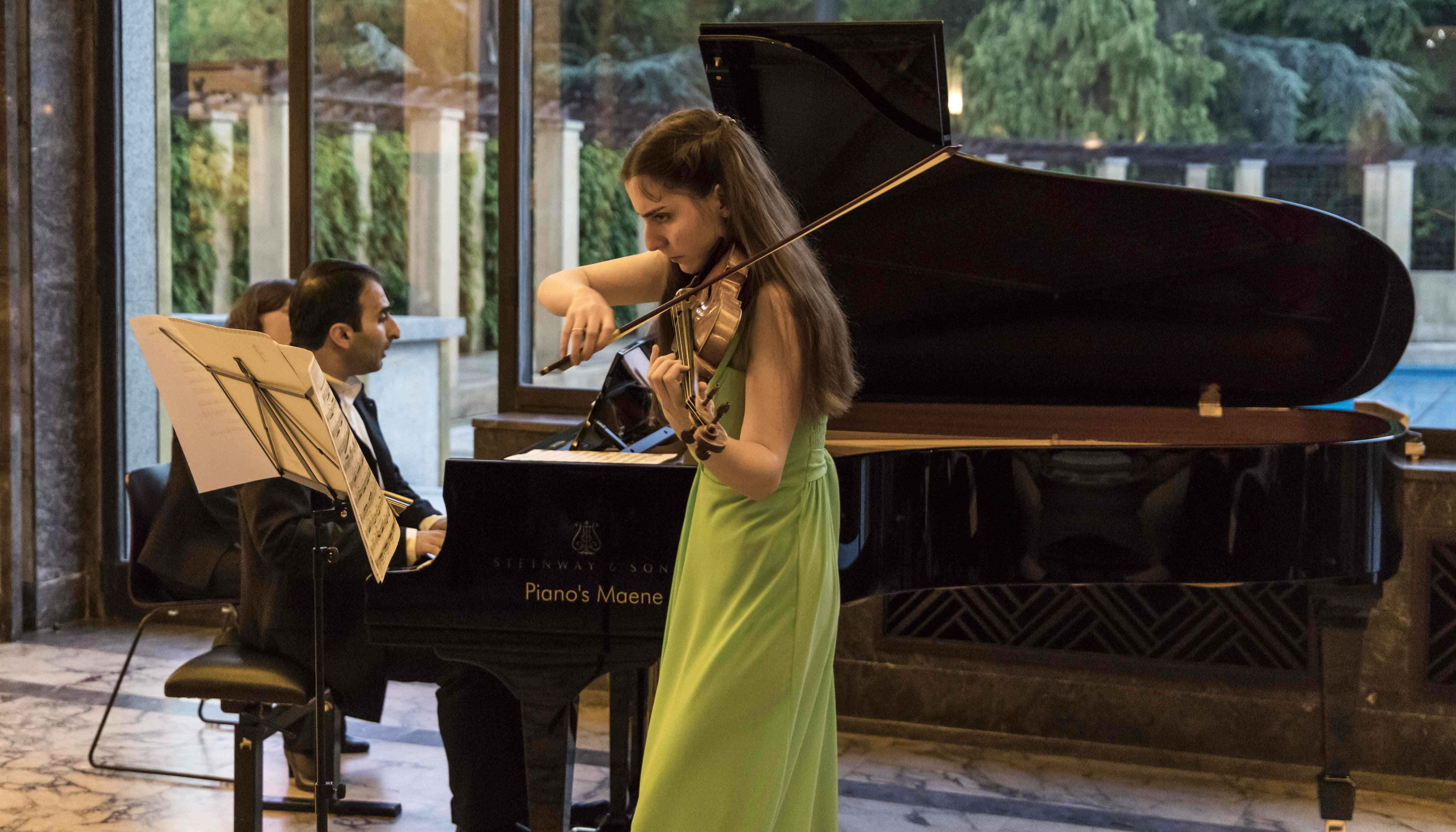 Concert Series in Brussels to Benefit Rising Talents in Armenia