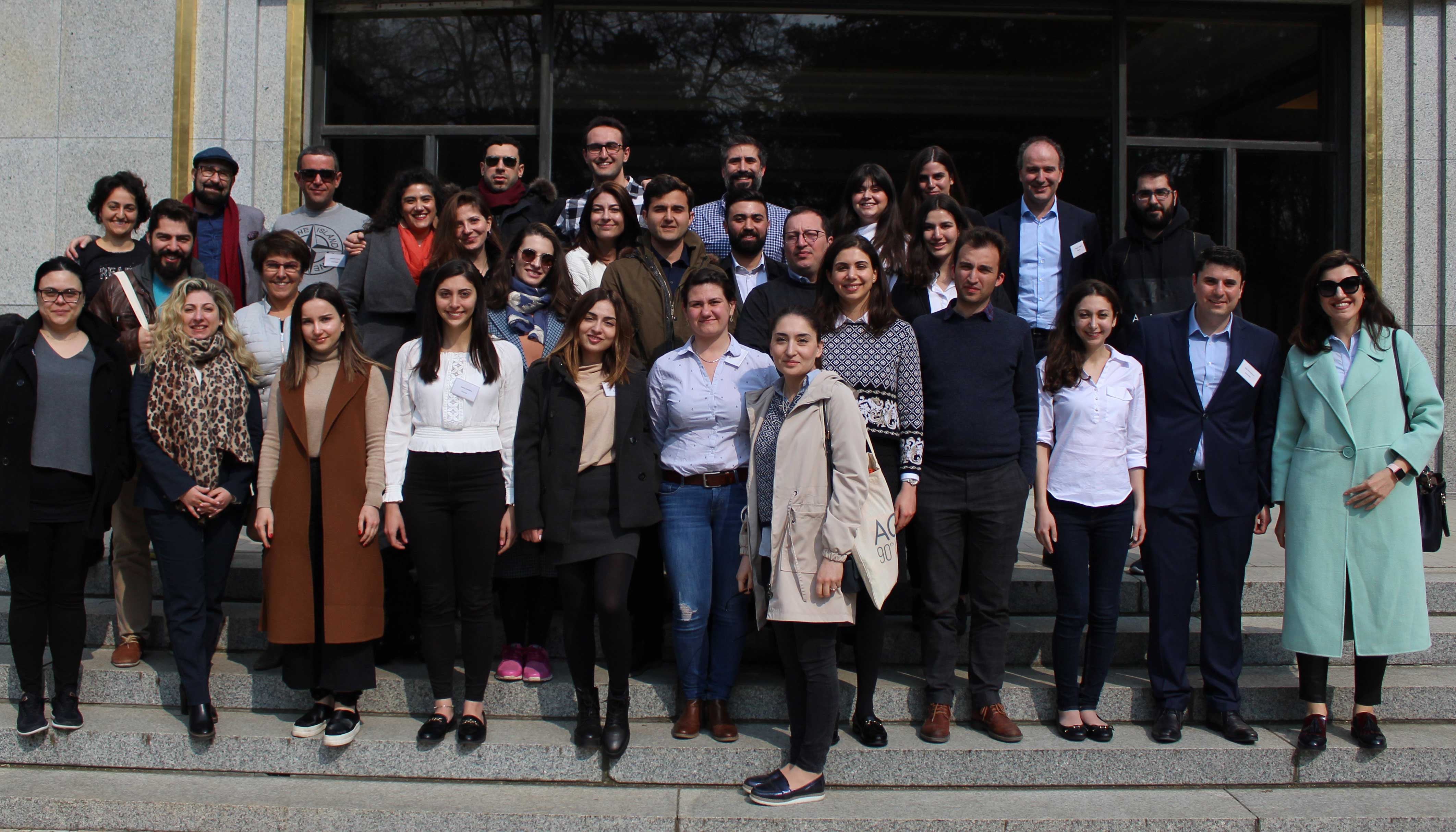 AGBU Goriz Leadership Programme relaunched in Brussels