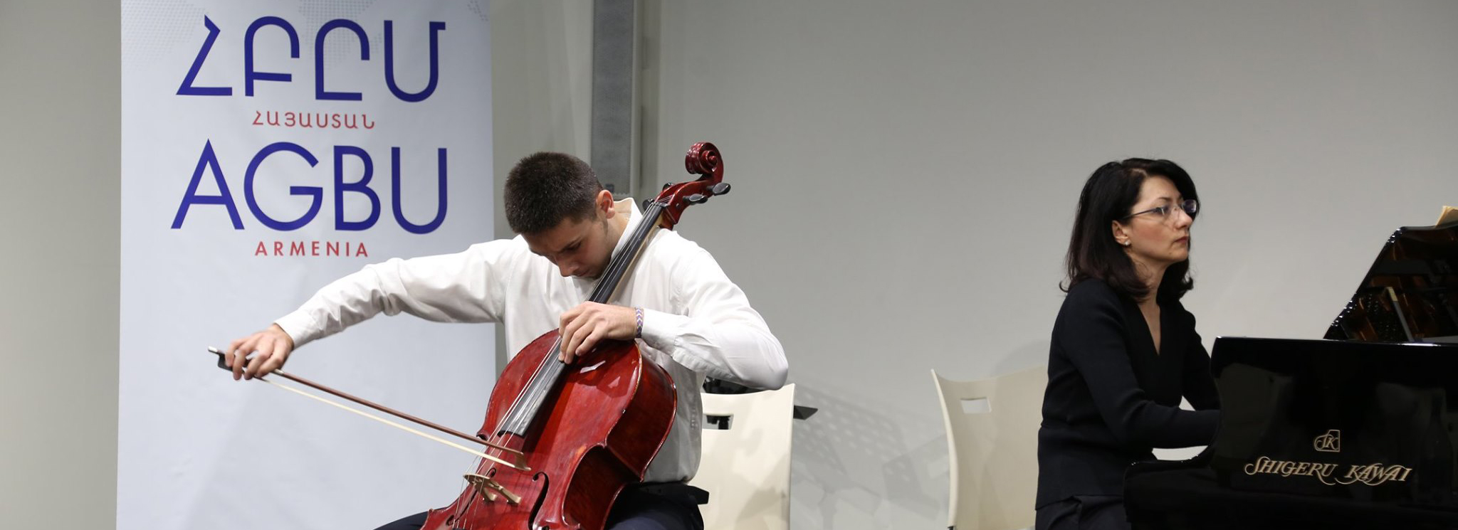 AGBU France supports AGBU Discovers Talents Programme in Armenia and lends Instruments to Promising Young Musicians