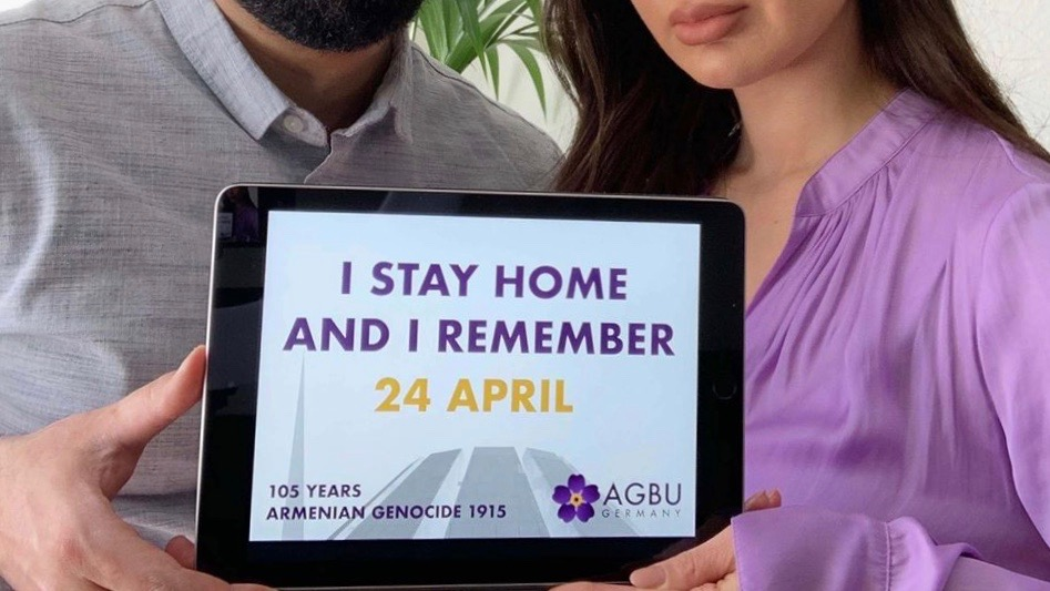 Commemorating April 24 Together at Home
